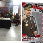 Jajaran Kejari Samarinda Mengikuti Arahan Jaksa Agung Republik Indonesia Awal Tahun 2021 Dengan 7 Program Prioritas Secara Virtual